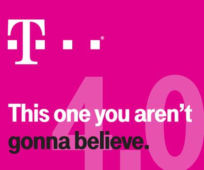 An invitation sent by T-Mobile to a CES news conference