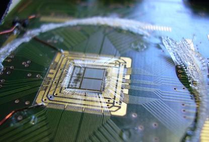 Neuromorphic chip at the University of Heidelberg, Germany