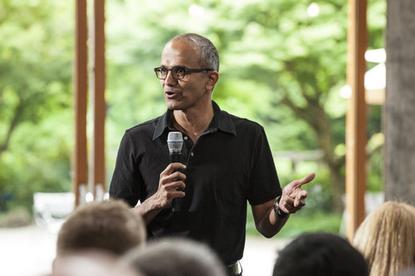 Microsoft's Satya Nadella