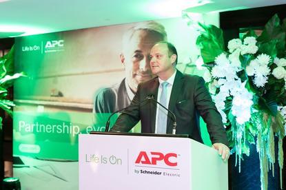 APC by Schneider Electric Pacific IT business and strategic customers and segments vice-president, Joe Craparotta