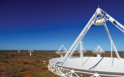 CSIRO's Australian Square Kilometre Array Pathfinder (ASKAP) radio telescope, Murchison Radio-astronomy Observatory, Western Australia