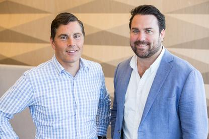 NAB Ventures' Todd Forest and Slyp's Paul Weingarth