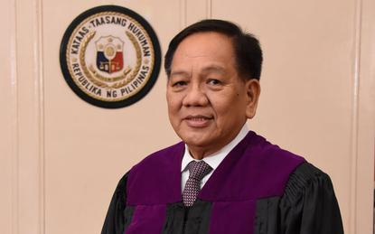 Honorable Chief Justice Diosdado M. Peralta.