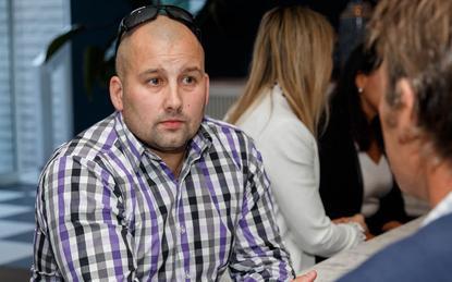 Encoo national sales manager Chris Eaton