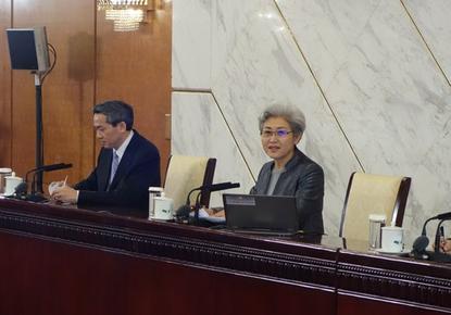 China's National People's Congress spokeswoman Fu Ying.