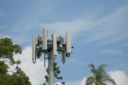 5G tower in Brisbane