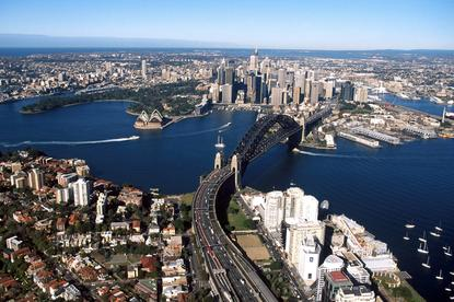 Sydney, capital city of NSW.