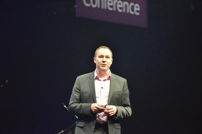 Microsoft's director of partner business and development, Phil Goldie