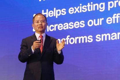 Huawei's rotating CEO, Eric Xu (Huawei)