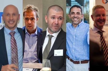 Len Findlay (VMtech); Darren Ashley (BEarena); Jules Rumsey (Cloud Plus); Ronnie Altit (Insentra) and Jon Evans (Enablis)