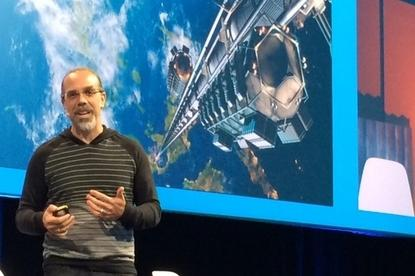 Astro Teller, head of GoogleX and also known as captain of moonshots, discusses successes and failures at the secretive innovation lab. Credit: Sharon Gaudin/Computerworld