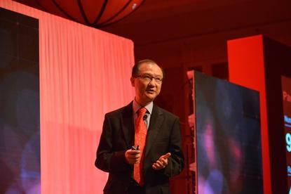 George Wong, senior director, APJ channel sales for Veritas