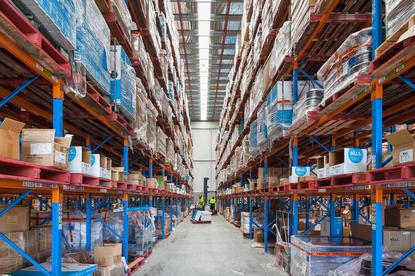 Hills distribution centre in Seven Hills, NSW