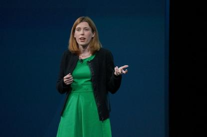 Jen Fitzpatrick speaks at Google I/O 2015