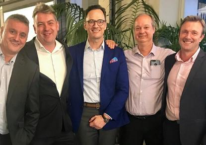 Nick Singh (JKVine); Dave Melgaard (JKVine); Clifford Foster (Deloitte); John Strumila (JKVine) and Brad Cunningham (JKVine)