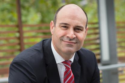Optus Business managing director, John Paitaridis