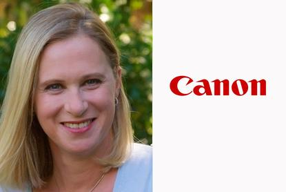 Kaaren Lewis - Business Services general manager of sales, Canon Australia
