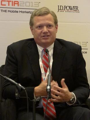 Chris Doggett, senior vice president, North America, at Kaspersky Lab, spoke on Tuesday at CTIA Wireless.