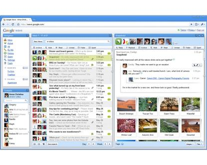 Google's Wave consolidates online tools