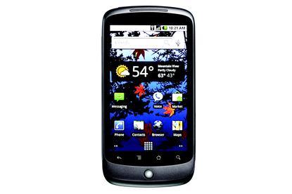 Google's Nexus One smartphone