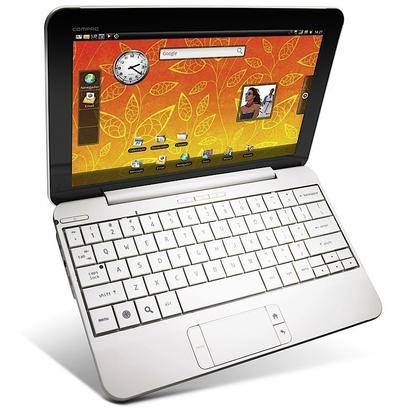 The new Compaq AirLife 100 runs the Linux-based Android mobile operating system