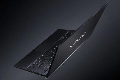 The Sony VAIO Z Series ultralight laptop