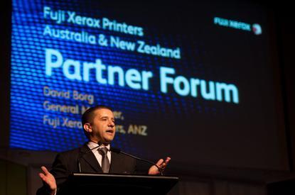 Fuji Xerox Printers' David Borg