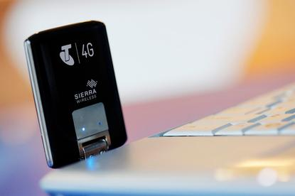 The Telstra USB 4G modem: available across Australia from today