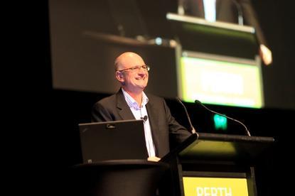 Keynote presentation in Perth