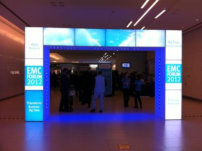 """The EMC Forum 2012. This year, it was all about """"Transforming IT+Business+Yourself."""""""