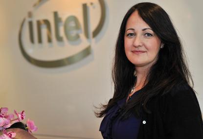 Intel managing director A/NZ, Kate Burleigh.