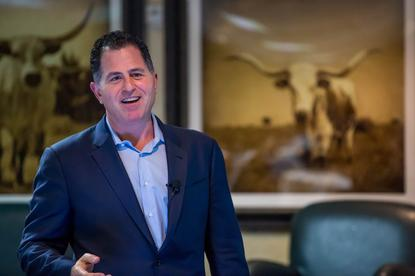 Dell chief executive, Michael Dell finalises the shedding of its software business