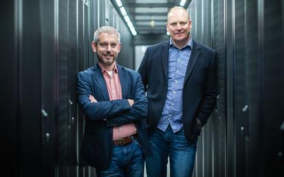 James Kavanagh (Microsoft) and Greg Boorer (CDC)