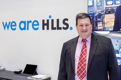 Hills CEO, David Lenz