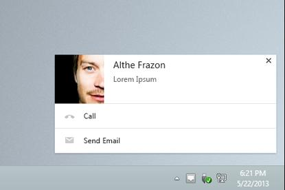 An example of the richer notifications coming to Google's Chrome browser, which can include images and formatted text