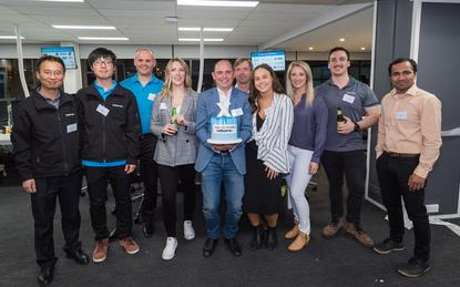 Team Outcomex in Melbourne