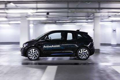 BMW has integrated Remote Valet Parking Assistant in an i3.