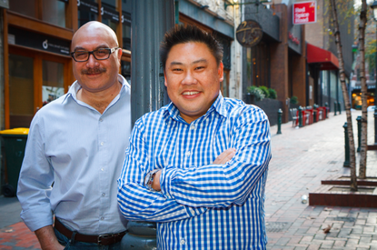 Gobbill co-founders, Quentin Marsh and Shendon Ewans (L-R)
