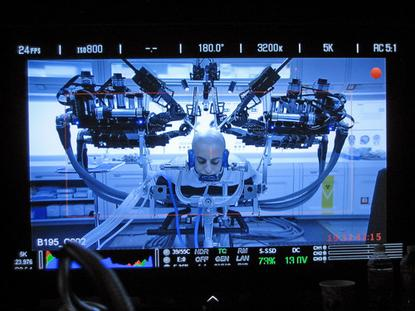 """University of Washington's Raven II surgical robot was used in the filming of """"Ender's Game."""""""
