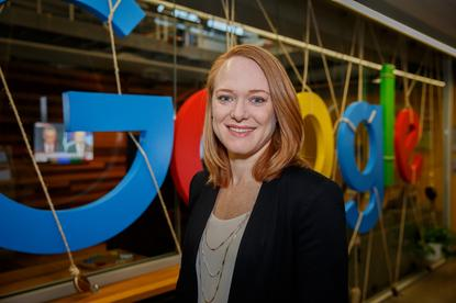 Renee Gamble - Country Manager of Australia and New Zealand, Google Cloud (Photo by Maria Stefina)
