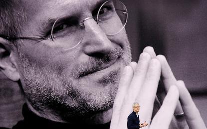 Steve Jobs (Apple) and Tim Cook (Apple)