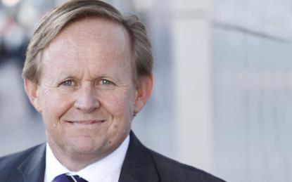 Outgoing Vocus CEO, Geoff Horth
