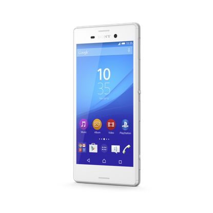 The Xperia M4 Aqua from Sony is waterproof and has LTE.