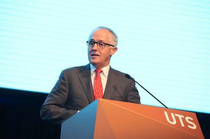 Australia Prime Minister, Malcom Turnbull