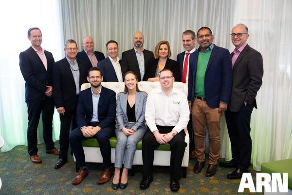 The ARN roundtable crew (top row, from left): Andy Jones, Ian Richards, Geoff Hughes, Andy Bird, Jerry Vochteloo, Pia Broadley, Norm Jeffries, Satish Naidu, Kon Kakanis (bottom row, from left): Mark Andersen, Nadia Cameron and Jonathan Allen