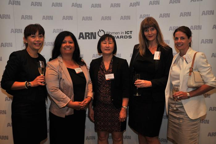 Sandra Lai (HP), Michelle Greenhill (HP), Vicki Soon (HP), Rachael Williams (HP) and Lida Lazzari (HP)