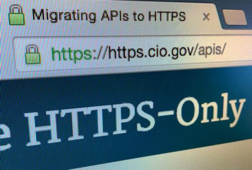 The U.S. government website for HTTPS deployment