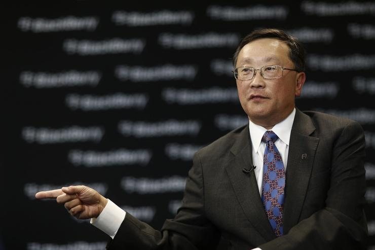 John Chen, CEO, BlackBerry