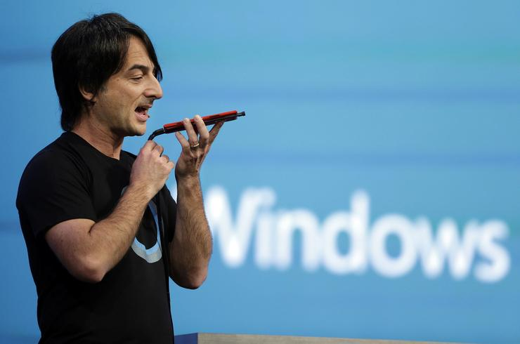 Joe Belfiore, Corporate Vice President, Operating Systems Group, Microsoft