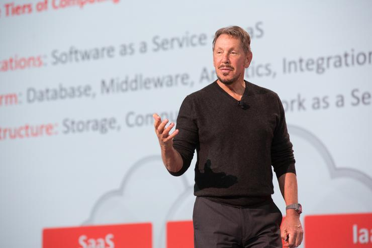 Larry Ellison - Chairman and Founder, Oracle